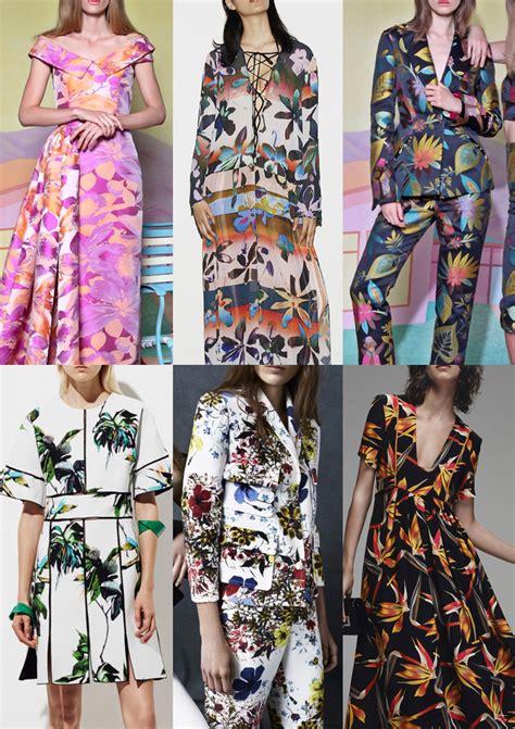 2016 fashion pattern trends pre spring summer 2016 catwalk print pattern trend