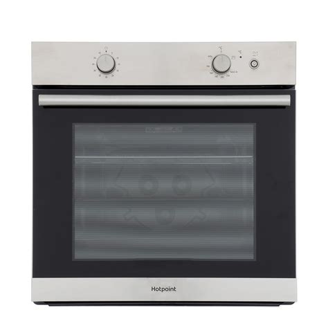Oven Gas Built In buy hotpoint ga2124ix single built in gas oven inox
