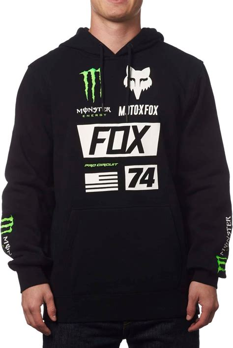 fox motocross sweatshirts fox racing mens energy union pullover motocross