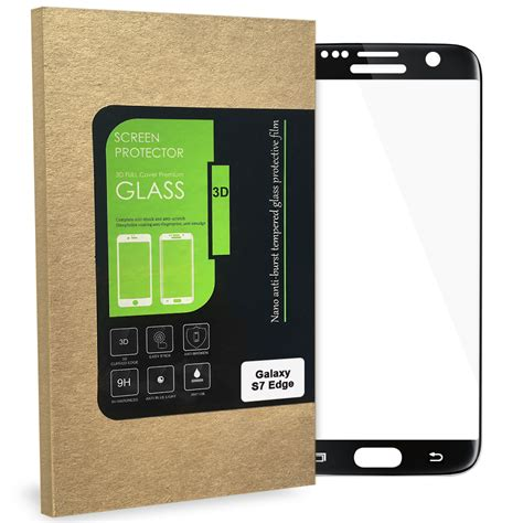 Tempered Glass Samsung S7 Edge Warna Black Gold Silver black 3d tempered glass screen protector samsung galaxy s7 edge
