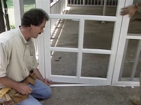 Diy Patio Doors How To Screen In A Porch How Tos Diy