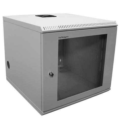 10u Rack by 10u 19in Wall Mounted Server Rack Cabinet Startech