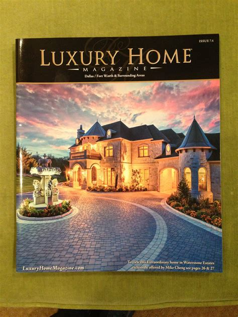 legacy custom pavers featured in luxury home magazine