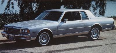 84 chevy impala 1984 chevrolet impala and caprice classic howstuffworks