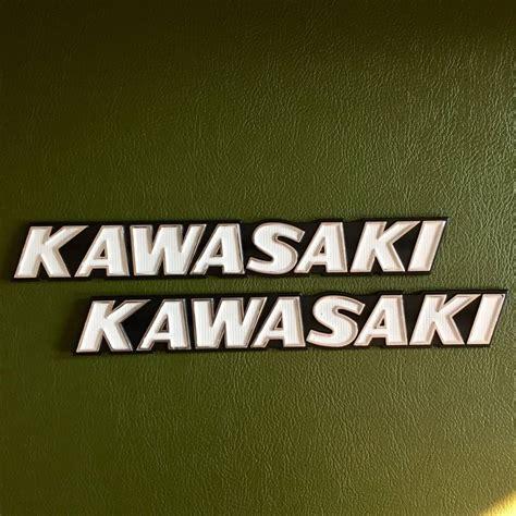 kawasaki emblem bewertungen cherry kawasaki old logo tank emblem