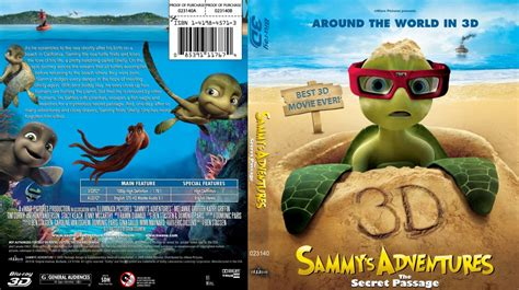 sammys adventures secret passage 3d custom bluray movie blu ray custom covers sammys