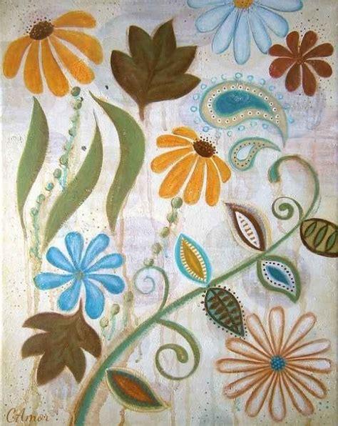 simple acrylic canvas painting ideas of flowers canvas painting ideas for beginners acrylic painting