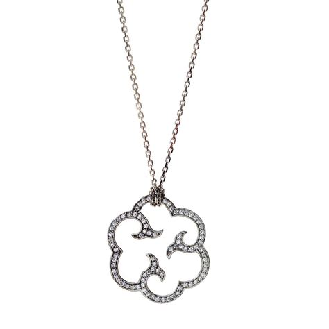 Handmade Sterling Silver Jewellery Uk - cloud handmade sterling silver pendant and chain