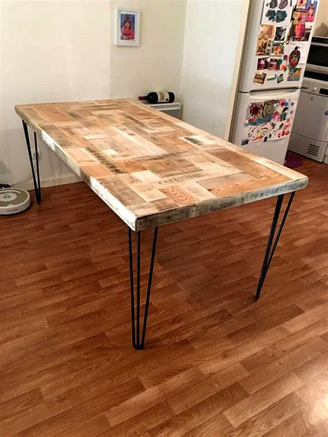 Pallet Wood Dining Table Pallet Dining Table Give A New To Pallets 101 Pallets