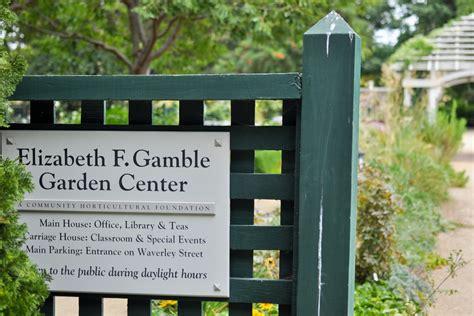 elizabeth f gamble garden