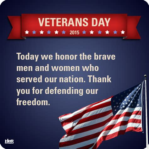 Dedicating Today To Those Who Make My Day by Veterans Day 2015 Interactive