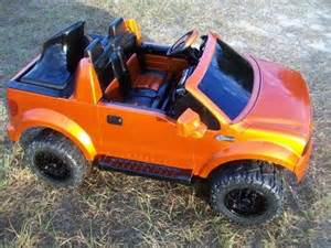 Custom Power Wheels Truck For Sale