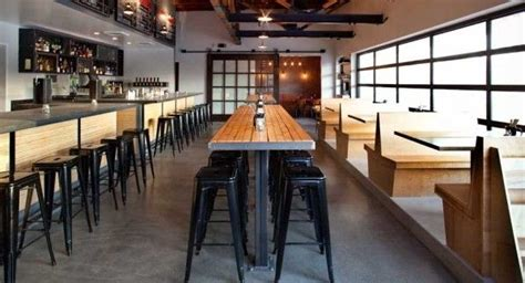 Community Table by Windows Tables Barstools Oh Restaurant