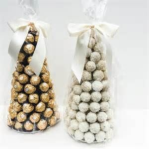 ferrero rocher tower chocolate centre by sweet trees