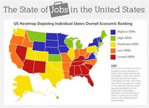 united states heat map unemployment is and employees wanting to leave