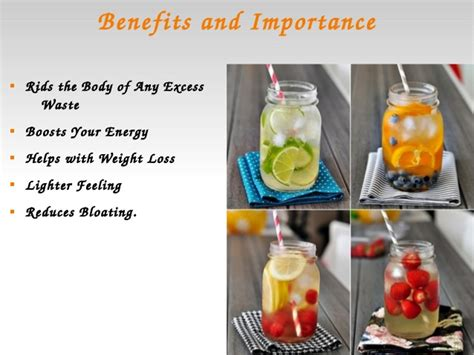 Types Of Detox Drinks by Water Detoxing For Weight Loss