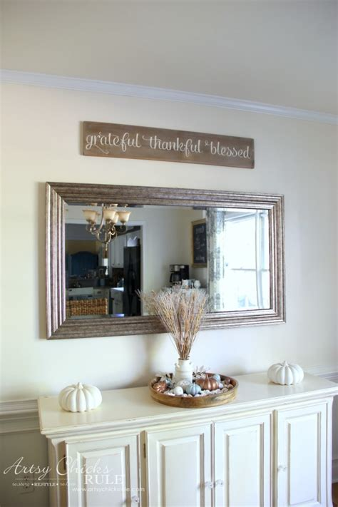 dining room simple dining room wall decor ideas dining grateful thankful blessed diy weathered sign artsy