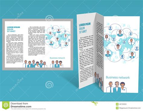 brochure booklet templates brochure booklet z fold layout editable design template