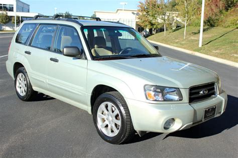 used subaru forester used 2005 subaru forester 2 5xs suv for sale in