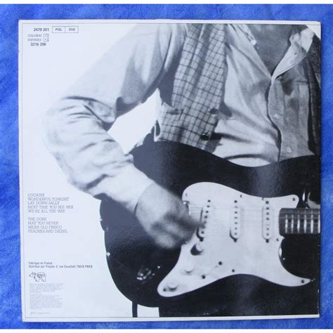 Eric Clapton Slowhand Original Vinyl - slowhand by eric clapton lp with grey91