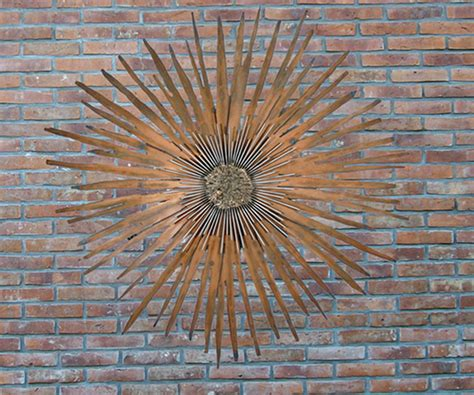 Outdoor Wall Decor Large by Wall Ideas Design Sun Higher Designs Ideas Outdoor