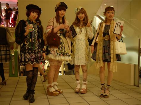 Japanese Fashion Subcultures by All Talk For Beautiful Diet