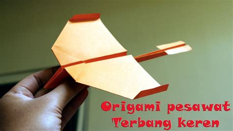 cara membuat origami pesawat tempur cara membuat origami pesawat temput bagian 1 versi on