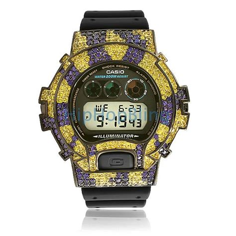 custom g shock watches hip hop watches