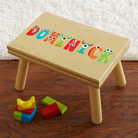 Name Puzzle Step Stool By Melissadoug by Personalized Baby Toys And Toddler Toys At Personal Creations