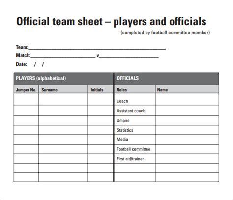 football score sheet 10 sle football score sheet templates sle templates