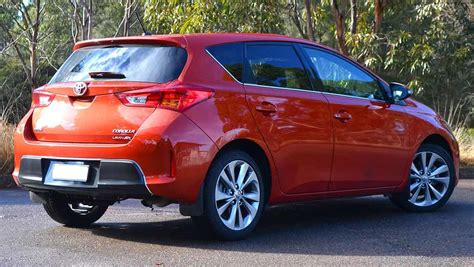 Toyota Corolla Hatchback 2015 Toyota Corolla Review Levin Zr Hatch Carsguide