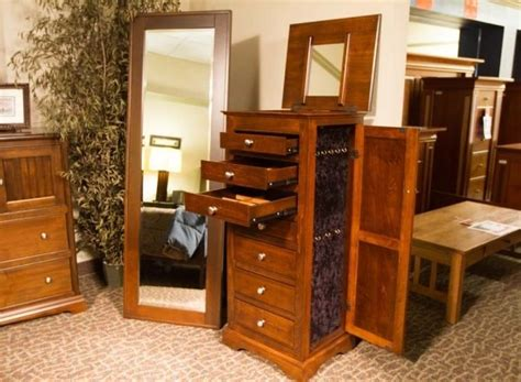 Maple Jewelry Armoire by Jewelry Armoire Albuquerque Custom Furniture Bedroom
