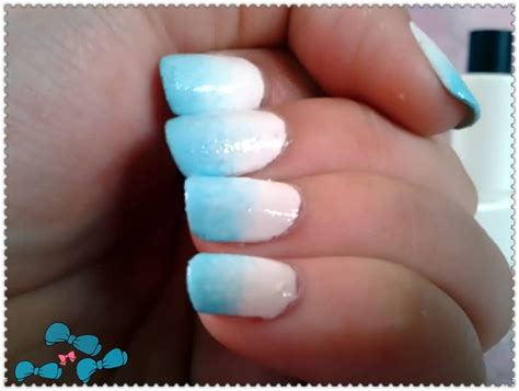 easy nail art blue and white 40 easy ombre nail art ideas for girls