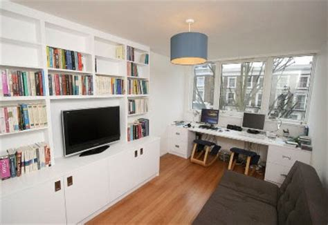 home office with tv combine your home office with space for watching tv my