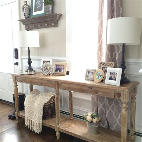 Foyer Entry Tables 17 Best Ideas About Foyer Table Decor On Pinterest Console Table Decor Table Decor And