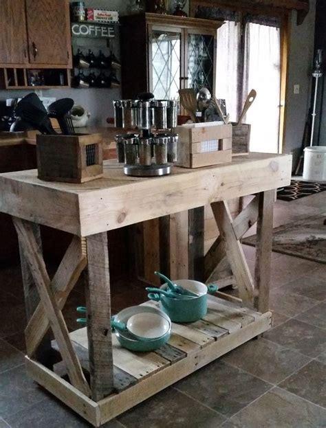 lada di wood portatile mesa ilha cozinha arm 225 pallets multi uso madeira maci 231 a