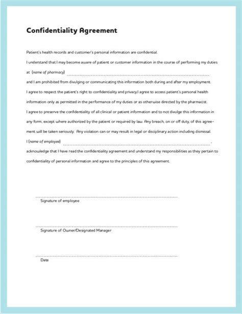 Letter Agreement To Maintain Confidentiality Of Information confidentiality statement sle hr employee