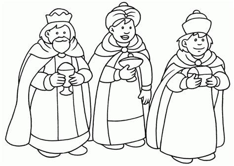 imagenes para pintar reyes magos maestra de primaria dibujos de los reyes magos para
