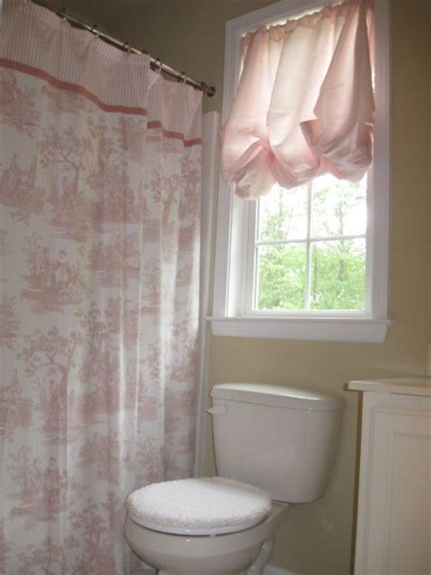 bathrooms shabby chic target simply shabby chic toile shower curtain pink bathroom our