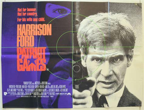 Patriot Games 1992 Full Movie Patriot Games Original Cinema Movie Poster From Pastposters Com British Quad Posters And Us 1