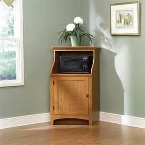 attractive corner kitchen storage cabinet #4: sauder-summer-home-microwave-stand.401902.2._raw.jpg
