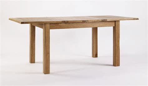 rustic oak extending dining table hshire furniture