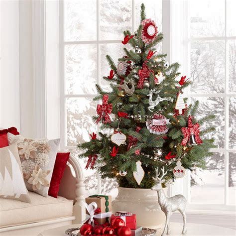 10 Tree Decoration Ideas by Miniature Tabletop Tree Decorating Ideas