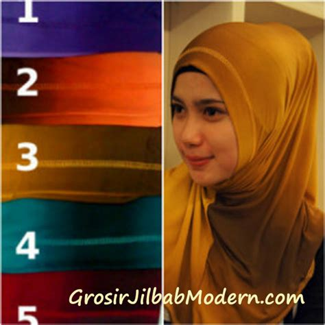 Jilbab Instan Gradasi Jilbab Syria Gradasi Non Glitter Grosir Jilbab Modern
