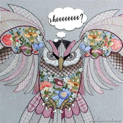 len outlet owl needlenthread