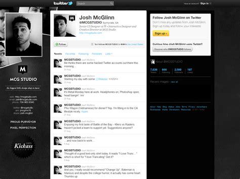 twitter layout ideas great twitter background designs
