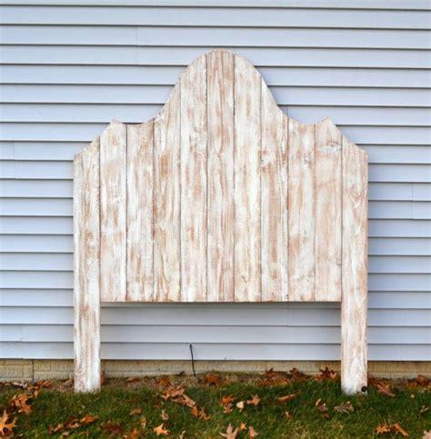 distressed wood headboard diy 25 best ideas about distressed headboard on pinterest