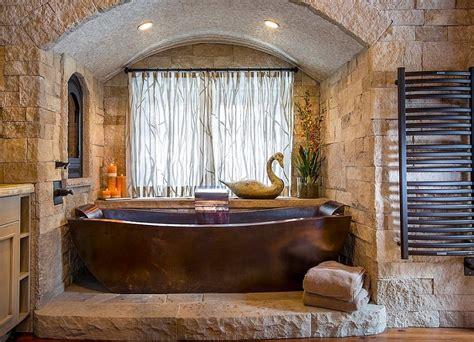 vasca da bagno in pietra bagni in pietra suggerimenti originali per il