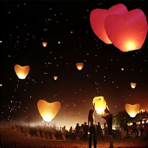 Paper Lanterns That Fly - flying wishing lantern this started