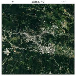 aerial photography map of boone nc carolina